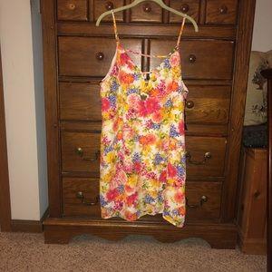 Floral slip dress, never worn!